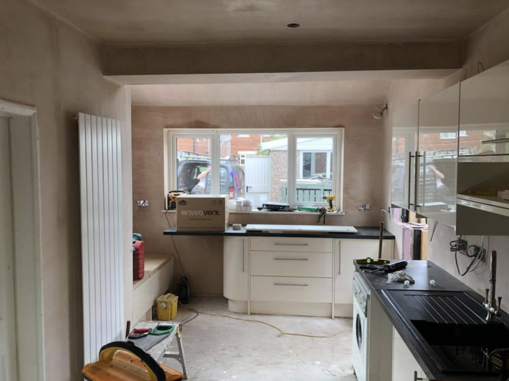 House extension and new kitchen