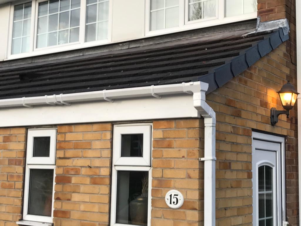 Fascia Board and Gutters