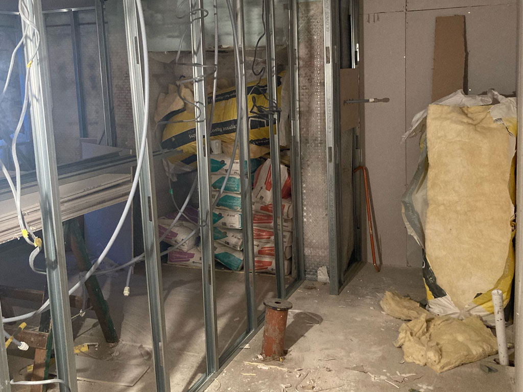 Cellar conversion in Huddersfield